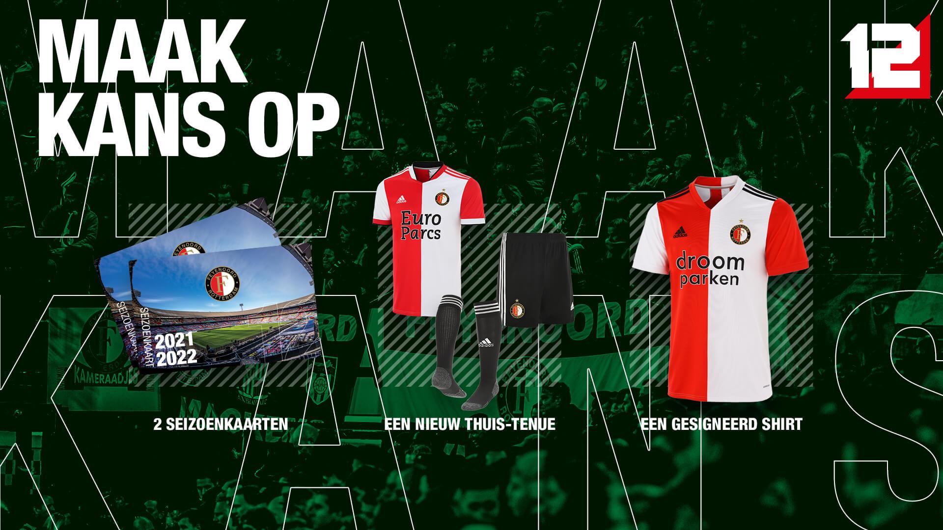 Verbind je officieel aan Feyenoord!