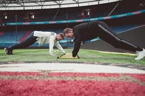 Fitter met Feyenoord