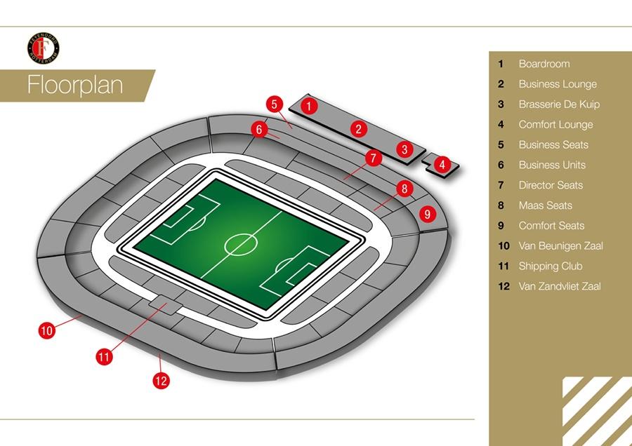 Stadium Floorplan
