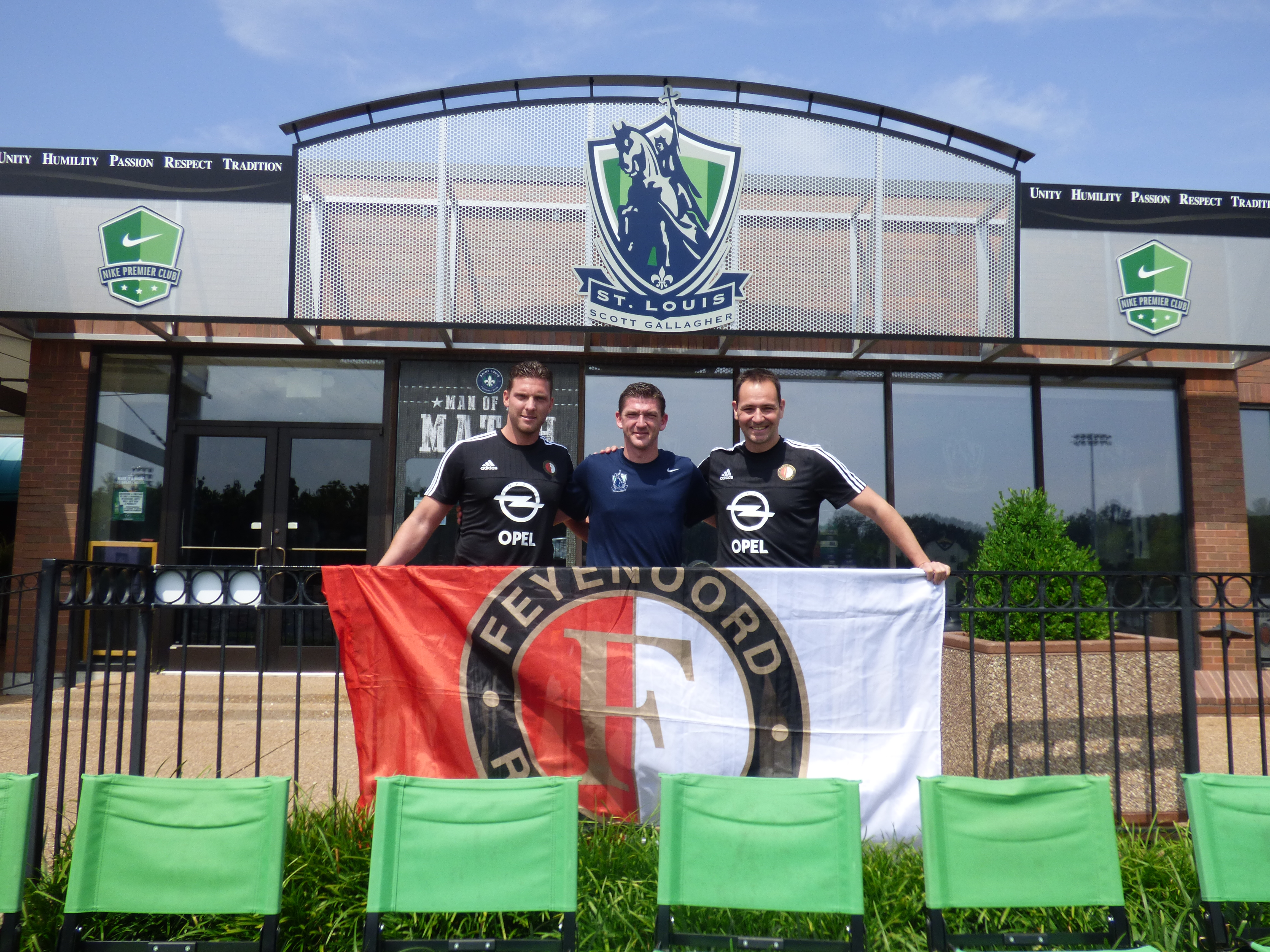 Official kickoff to Feyenoord-SLSG Illinois partnership