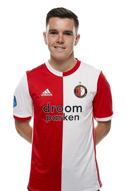 Liam Kelly - Middenvelder Feyenoord 1