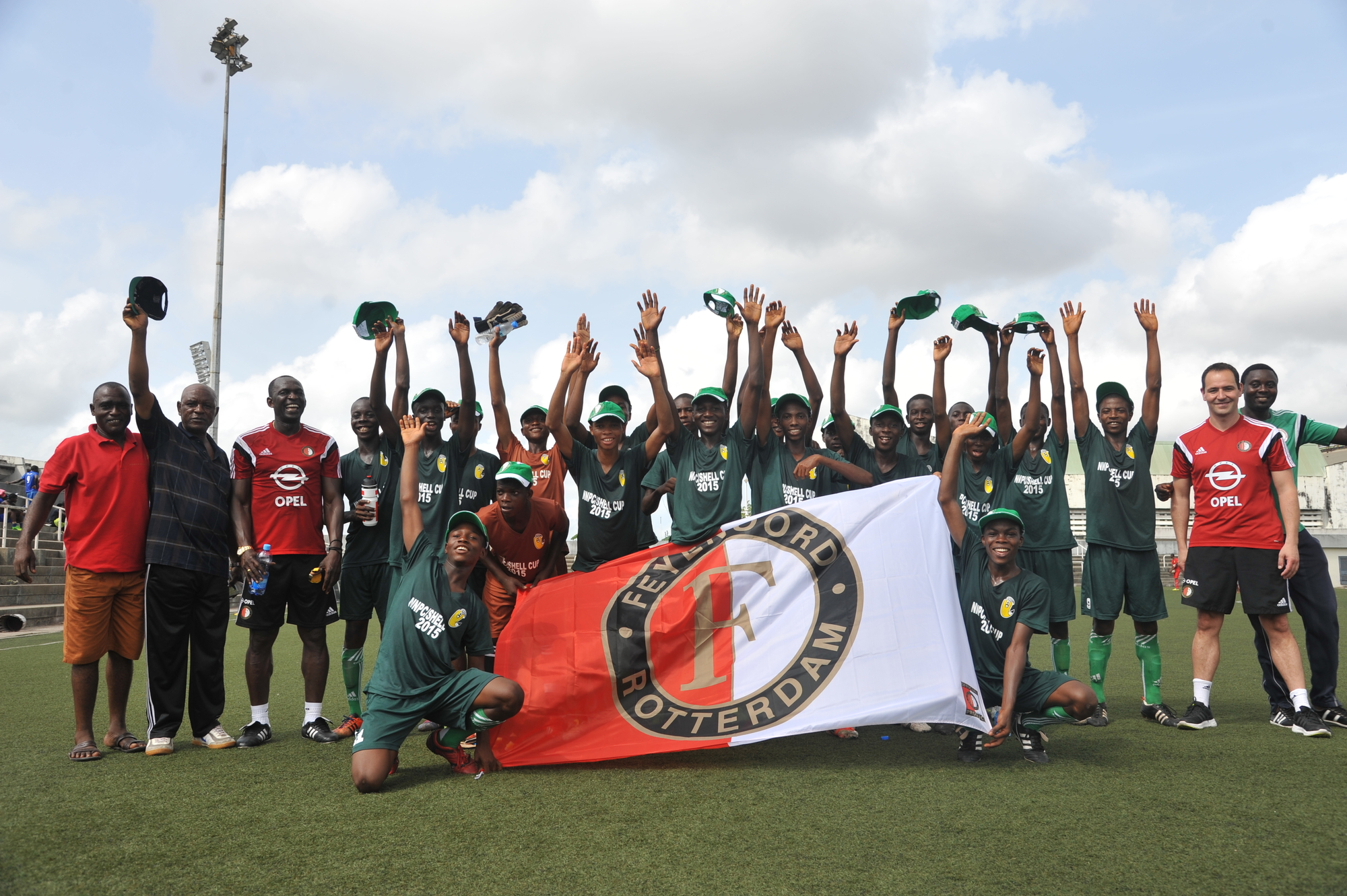 Feyenoord clinics powerful addition to NNPC Shell Cup