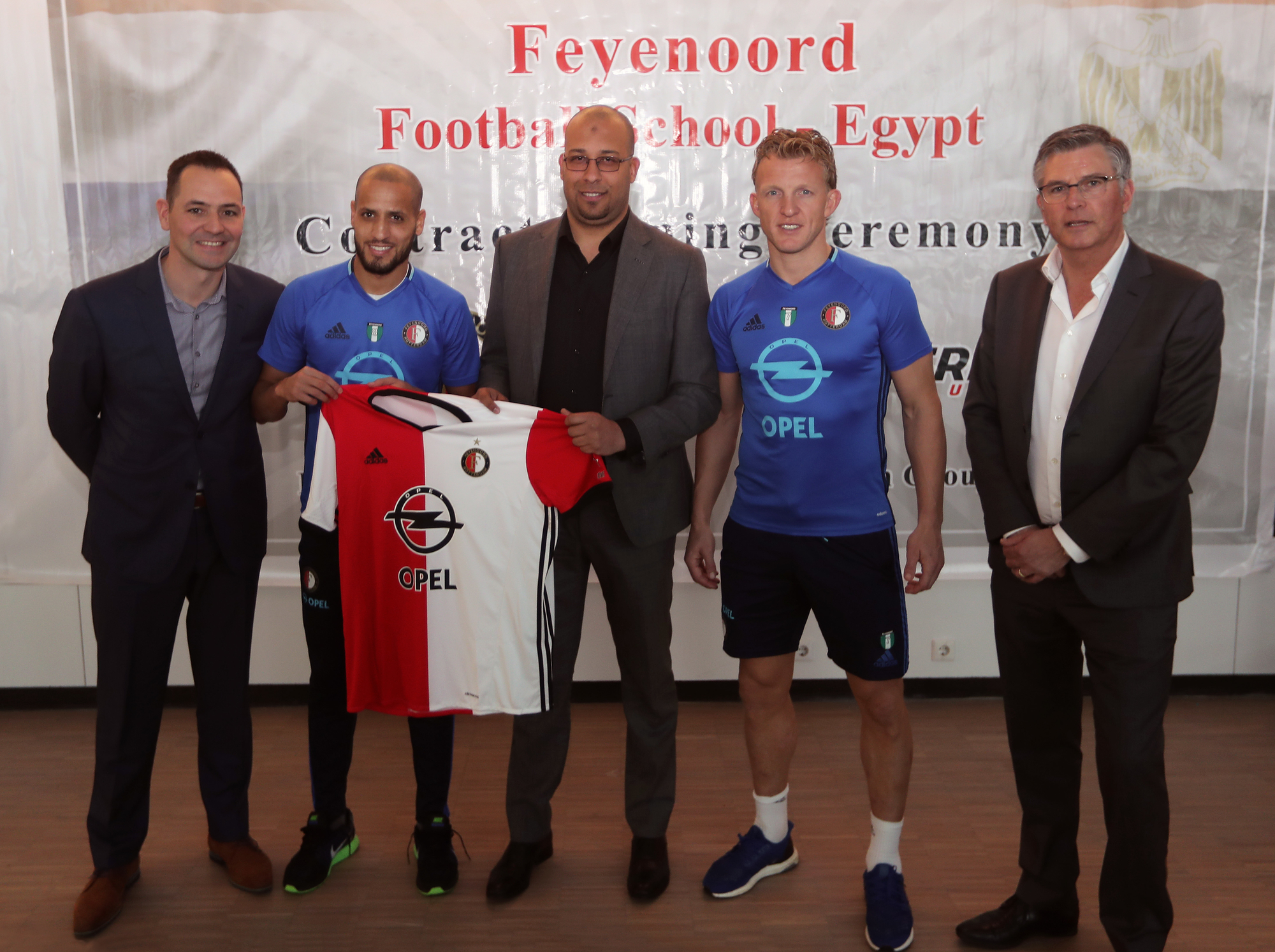 Partnership agreement for Feyenoord football academy in Egypt