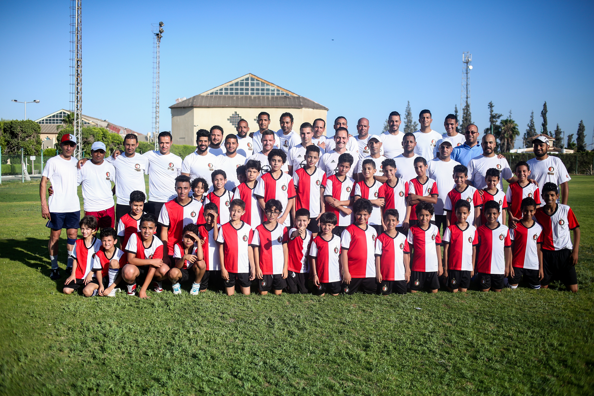Feyenoord Football School in Egypt opens