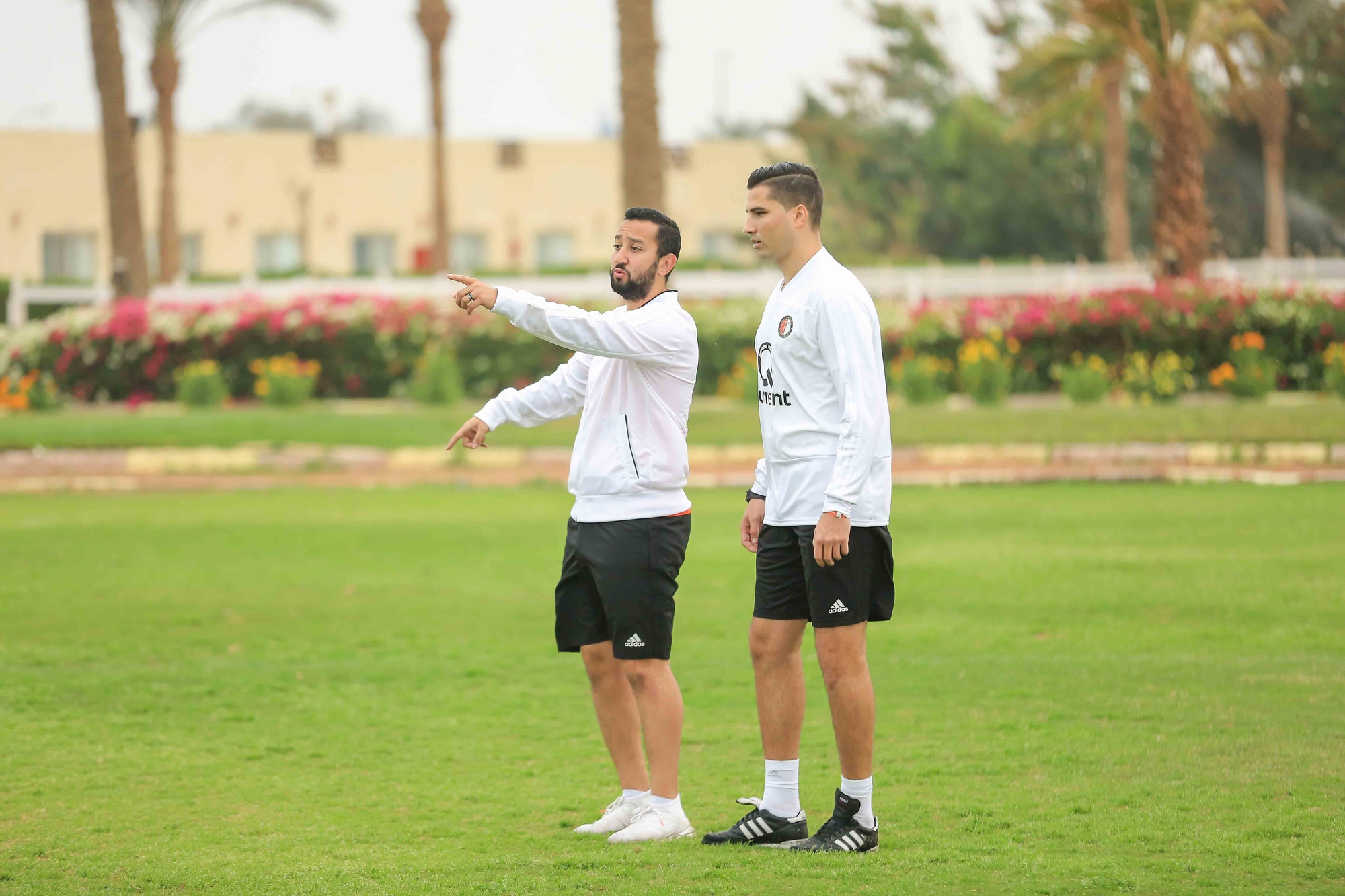 Sharing knowledge with the Feyenoord Football Schools in Egypt