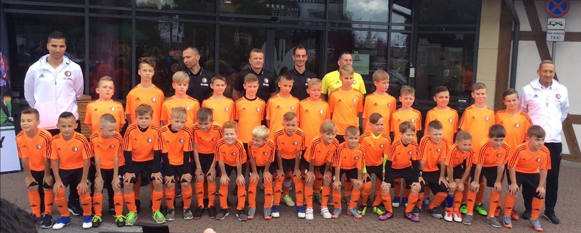 Partnership agreement for Feyenoord Football School in Gdansk