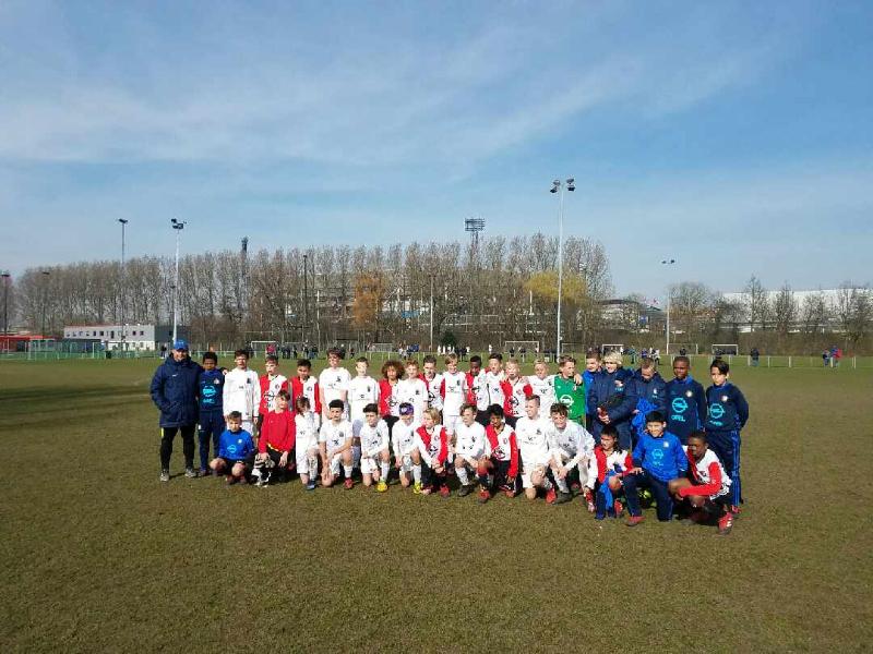 St Louis Scott Gallagher pays fourth annual visit to Feyenoord