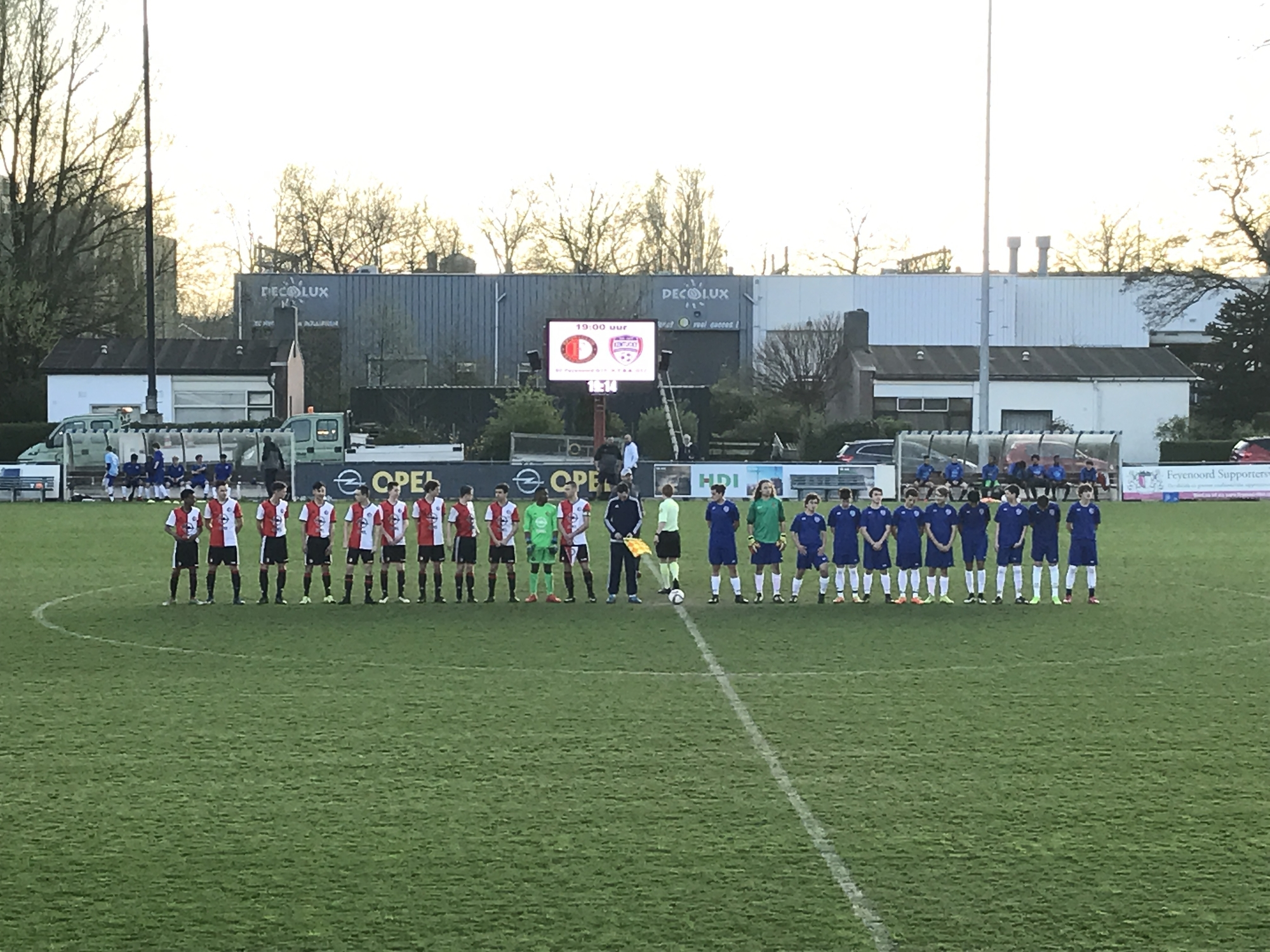 Second visit of Kentucky Youth Soccer Association to Feyenoord