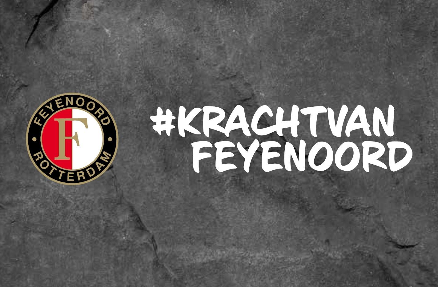 #KrachtvanFeyenoord: Feyenoord lanceert maatschappelijke campagne