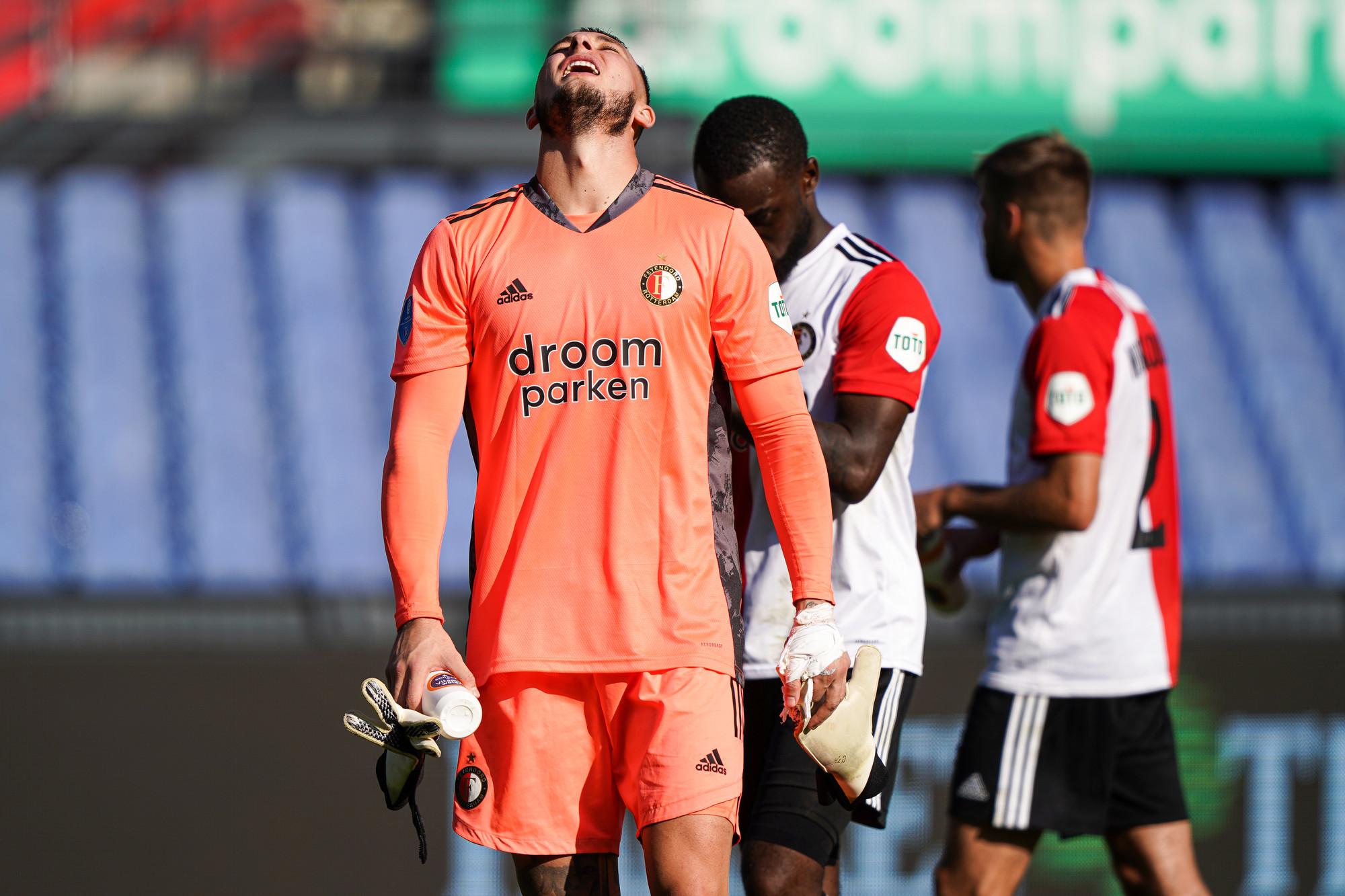 Feyenoord对FC Twente的跌倒点
